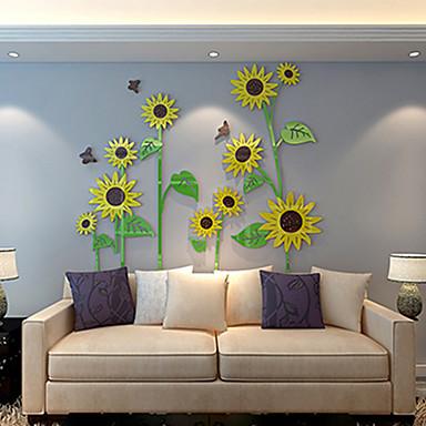 Botanic Perete Postituri Autocolante perete plane Autocolante de Perete Decorative,Vinil Material Pagina de decorare de perete Decal