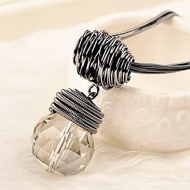 Damskie Naszyjniki choker Kryształ Pojedynczy Strand Stop Klasyczny minimalistyczny styl Biżuteria Na Codzienny Casual