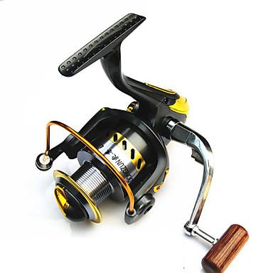 Kołowrotki Kołowrotki spinningowe 2.6:1 1 Łożyska kulkowe wymienny General Fishing-LF2000-7000
