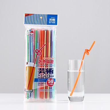 Kolorowy Impreza Szklanki, # ml Jednorazowe Plastik Sok napój gazowany Słomki