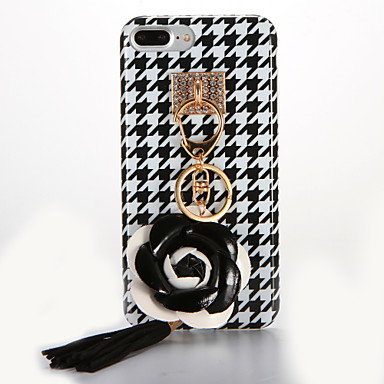 Için IMD Kendin-Yap Pouzdro Arka Kılıf Pouzdro Çiçek Yumuşak TPU için AppleiPhone 7 Plus iPhone 7 iPhone 6s Plus iPhone 6 Plus iPhone 6s