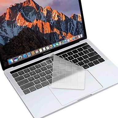 xskn® versiunea europeană și americană ultra-subțire de piele tastatură pentru 2016 TPU nou MacBook Pro 13.3 / 15.4 cu bara de atingere a