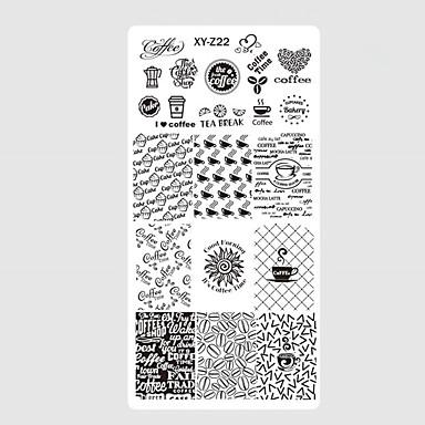 10pcs/set Rédaction Outils et accessoires / Accessoires de Peinture / Outils & Accessoires Elégant / Avec motifs / Haute qualité Nail Art