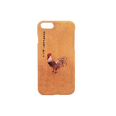 Etui Käyttötarkoitus Apple Himmeä Koristeltu Kuvio Takakuori Sana / lause Kova PC varten iPhone 7 Plus iPhone 7 iPhone 6s Plus iPhone 6