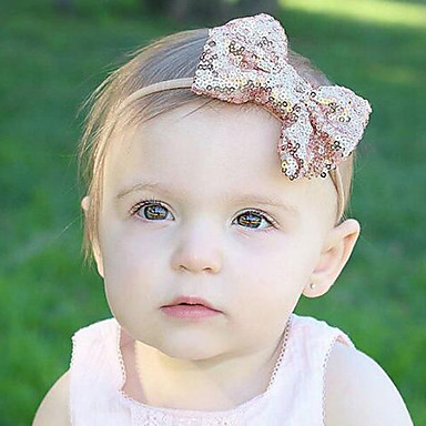 cheap Kids' Headpieces-Toddler Boys' / Girls' Cotton / Satin Hair Accessories Red / Pink / Purple One-Size / Headbands