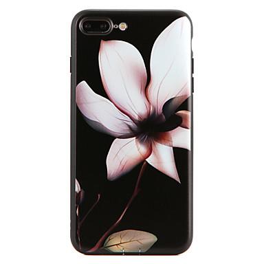 Için Temalı Pouzdro Arka Kılıf Pouzdro Çiçek Yumuşak TPU için Apple iPhone 7 Plus iPhone 7