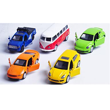 Παιχνίδια αυτοκίνητα Σετ όχημα Αγωνιστικό αυτοκίνητο Αστυνομικό αυτοκίνητο Παιχνίδια Αυτοκίνητο Μεταλλικό Κράμα Πλαστική ύλη Μεταλλικό