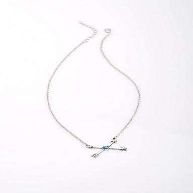 Γυναικεία Κολιέ Τσόκερ Κοσμήματα Κοσμήματα Ρητίνη Κράμα Love Μοντέρνα Εξατομικευόμενο Euramerican μινιμαλιστικό στυλ Ευρωπαϊκό Κοσμήματα