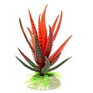 Διακόσμηση Ενυδρείου Υδρόβιο φυτό Μη τοξικό και χωρίς γεύση Πλαστικό