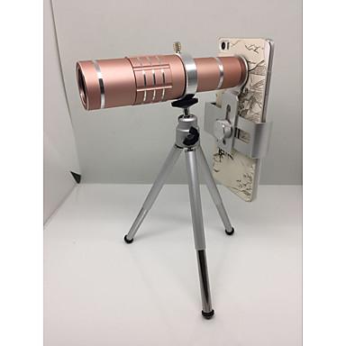 Uniwersalny obiektyw 18x telefon komórkowy teleobiektyw kamera mini statyw Telefon obiektyw aparatu Lensi dla iPhone samsung htc
