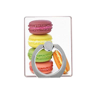 macarons desen plastik halka tutacağı / 360 cep telefonu için dönen iphone 8 7 samsung galaxy s8 s7