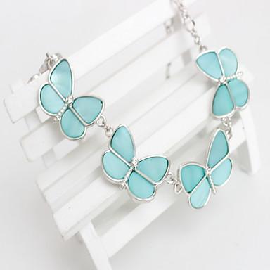 Damskie Naszyjniki choker Biżuteria Biżuteria Stop Modny Osobiste euroamerykańskiej Dark Blue Light Blue Biżuteria NaImpreza Specjalne