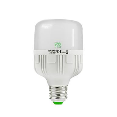 1 buc 14W 1200-1350 lm E26/E27 Bulb LED Glob 30 led-uri SMD 2835 Decorativ Alb Cald Alb Rece 2800-3200/6000-6500K AC 85-265V