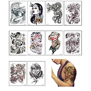 10 Αυτοκόλλητα Τατουάζ Άλλα Non ToxicΜωρά Παιδικά Γυναικεία Αντρικά Εφηβικό Flash Tattoo προσωρινή Τατουάζ
