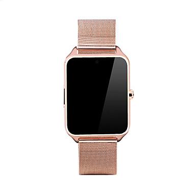 Męskie Inteligentny zegarek Modny Cyfrowe Kalendarz Krokomierz Odporny na wstrząsy Stop Pasmo Nowoczesne Czarny Srebro Złoty