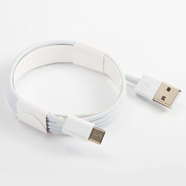 USB 2.0 Typ C Adapter kabla USB Przenośny Kable Na Samsung Huawei LG Nokia Lenovo Motorola Xiaomi HTC Sony 100 cm PVC