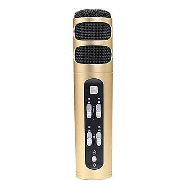 no Przewodowy Mikrofon do karaoke 3,5 mm Złoty