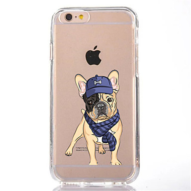 Için Şeffaf Temalı Pouzdro Arka Kılıf Pouzdro Köpek Yumuşak TPU için AppleiPhone 7 Plus iPhone 7 iPhone 6s Plus iPhone 6 Plus iPhone 6s