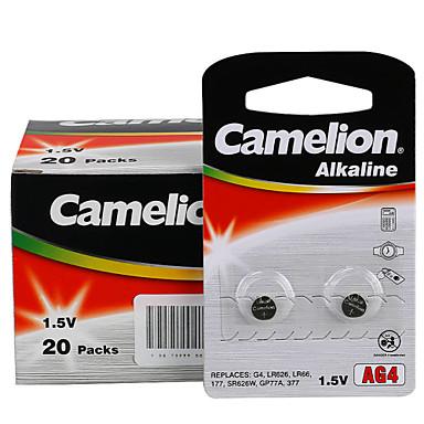 CAMELION ag4 κουμπί νομίσματος αλκαλική μπαταρία κυττάρων 1.5V 40 πακέτο