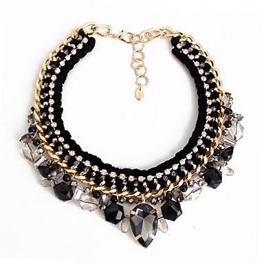 Kadın Uçlu Kolyeler Mücevher Mücevher Değerli Taş Simüle Elmas alaşım Moda Kişiselleştirilmiş Euramerican lüks mücevher Avrupa Mücevher