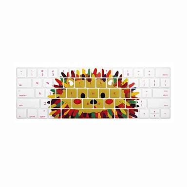 xskn® angielski Jeż silikonowa klawiatura skóry i touchbar Protector 2016 Najnowszy MacBook Pro 13.3 / 15.4 z barem dotykowy siatkówki (us