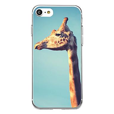 Varten Ultraohut Kuvio Etui Takakuori Etui Eläin Pehmeä TPU varten AppleiPhone 7 Plus iPhone 7 iPhone 6s Plus/6 Plus iPhone 6s/6 iPhone