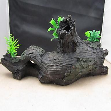 Dekoracja Aquarium Wood Nietoksyczne i bez smaku Żywica