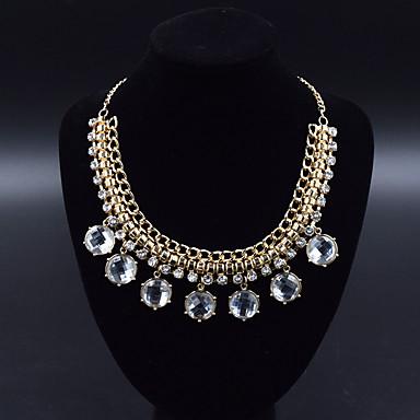Naisten Riipus-kaulakorut Statement kaulakorut Korut Korut jäljitelmä Diamond MetalliseosRoikkuva Muoti Personoitu Euramerican Statement