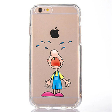 Için Şeffaf Temalı Pouzdro Arka Kılıf Pouzdro Karikatür Yumuşak TPU için AppleiPhone 7 Plus iPhone 7 iPhone 6s Plus iPhone 6 Plus iPhone