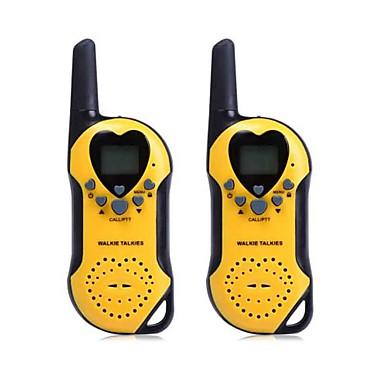 t5 2buc 22 canale walkie talkie cu ecran uhf LCD