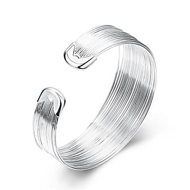 Χειροπέδες Βραχιόλια Φιλία Χιπ-Χοπ Τούρκικα Μοντέρνα Πεπαλαιωμένο Βοημία Style Πανκ Στυλ Χαλκός Επάργυρο Circle Shape Geometric Shape