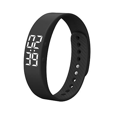 T5S Smart Watch Smart rannerengas Android Ajastin Vedenkestävä Poltetut kalorit Askelmittarit Liikuntavihko Herätyskello Urheilu