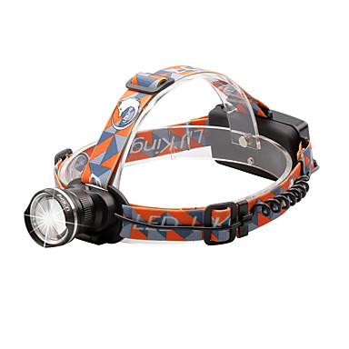 U'King Φακοί Κεφαλιού Μπροστινό φως 2000 lm 3 9 Τρόπος Cree XM-L T6 Zoomable Ρυθμιζόμενη Εστίαση Μικρό Μέγεθος Εύκολη μεταφορά High Power