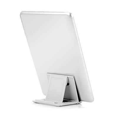 billige Tabletholdere-tablet stativ Plastik desk Table holder tablet Justerbar Fleksibel Bærbar Foldning Universel Sort Blå Grøn Rosa Hvid