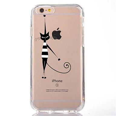 Etui Käyttötarkoitus iPhone 7 iPhone 7 Plus iPhone 6s Plus iPhone 6 Plus iPhone 6s iPhone 6 iPhone 5 iPhone 5C Apple Läpinäkyvä Kuvio