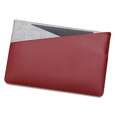 Apple MacBook 12 tuuman ilmaa 11,6 Kannettavan laukku PU nahka kanssa tuntui yksinkertainen vapaa tyyli kannettava pussi yksivärinen