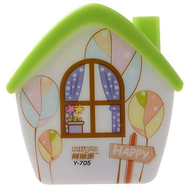 kly podłączając małej nocnej lampy led stylu cartoon dom nocny wygląd lampy dla dziecka sypialni