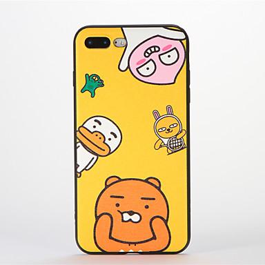 Για Με σχέδια tok Πίσω Κάλυμμα tok Κινούμενα σχέδια Μαλακή Σιλικόνη για AppleiPhone 7 Plus iPhone 7 iPhone 6s Plus iPhone 6 Plus iPhone