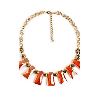 Damskie Pasemka Naszyjniki Biżuteria Biżuteria Syntetyczne kamienie szlachetne Stop Spersonalizowane Europejski Modny euroamerykańskiej