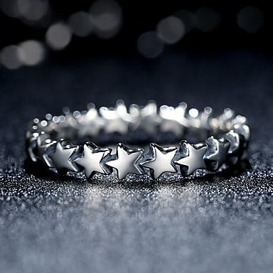 Damskie Pierscionek Spersonalizowane Modny Wszechświat Star Shape Biżuteria Na Codzienny Casual