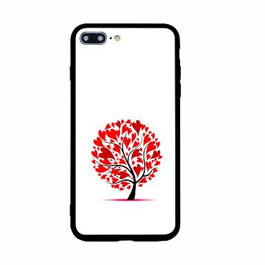 Varten Kuvio Etui Takakuori Etui Sydän Kova Akryyli varten AppleiPhone 7 Plus iPhone 7 iPhone 6s Plus iPhone 6 Plus iPhone 6s iPhone 6