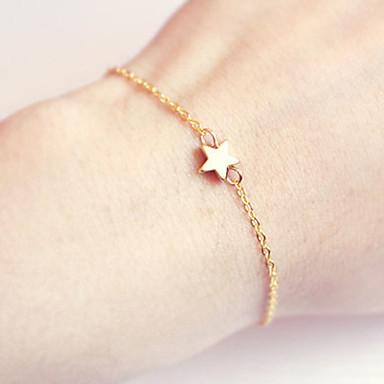 Bransoletki i łańcuszki na rękę Film Biżuteria biżuteria kostiumowa Bohemia Style Ręcznie wykonane Stop Star Shape Biżuteria Na Ślub