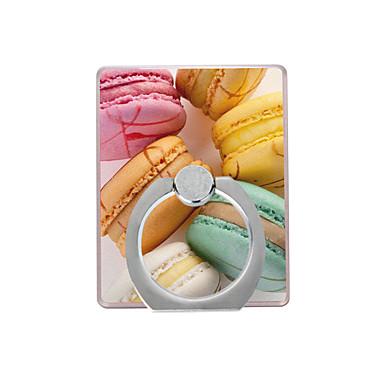 macarons μοτίβο πλαστική θήκη δαχτυλίδι / 360 περιστρεφόμενη για κινητό τηλέφωνο iphone 8 7 samsung galaxy s8 s7