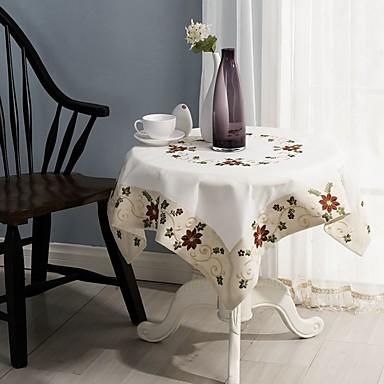 de vânzare pătrat brodate de masă pânză 100% bumbac nunta decor de masă decor 85 * 85cm (34 * 34 inchi)