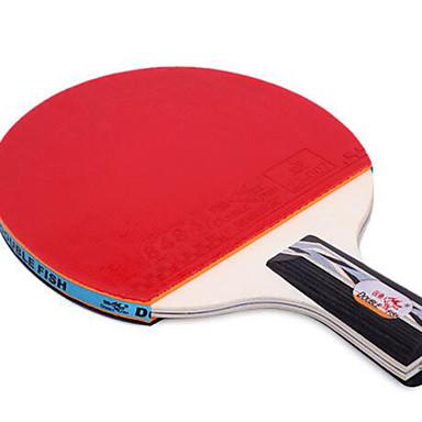 Ping Pang/الجدول مضارب تنس Ping Pang مطاط مقبض قصير البثور