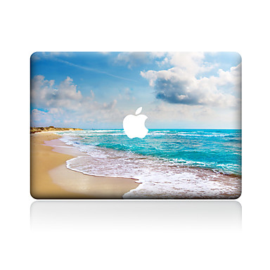1 piesă Rezistent la Zgârieturi Decor Plastic Transparent Autocolant Corp Model PentruMacBook Pro 15'' with Retina MacBook Pro 15 ''