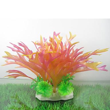 Διακόσμηση Ενυδρείου Υδρόβιο φυτό Τεχνητά Πλαστική ύλη