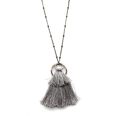 Damskie Naszyjniki z wisiorkami Biżuteria Biżuteria Stop Modny Osobiste euroamerykańskiej Styl Folk Europejski Biżuteria NaImpreza