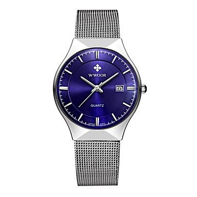 Erkek Bilek Saati Elbise Saat Moda Saat Quartz Alaşım Bant İhtişam Lüks Günlük Çok-Renkli