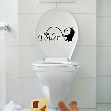 Streszczenie Rysunek Wypoczynek Naklejki Naklejki ścienne lotnicze Dekoracyjne naklejki ścienne Naklejki toaleta, Papierowy Winyl